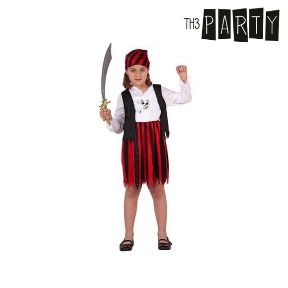 Costume for Children Pirate Red