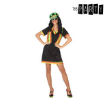 Costume for Adults Jamaican Black (2 Pcs)