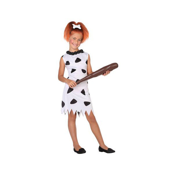Costume for Children Caveman White (1 Pc)