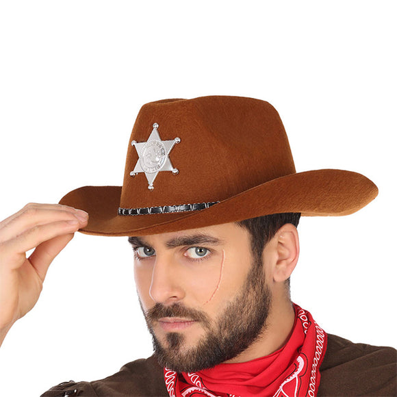 Cowboy Hat Brown