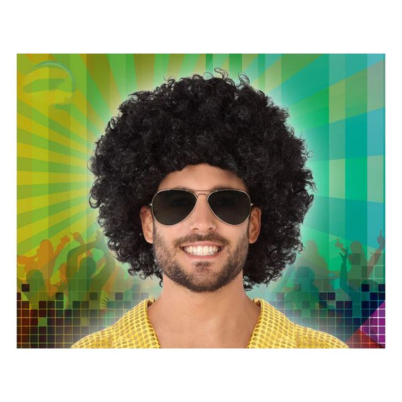 Curly Hair Wig Black