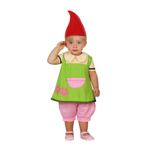 Costume for Babies 112889 Gnome Green (3 Pcs)
