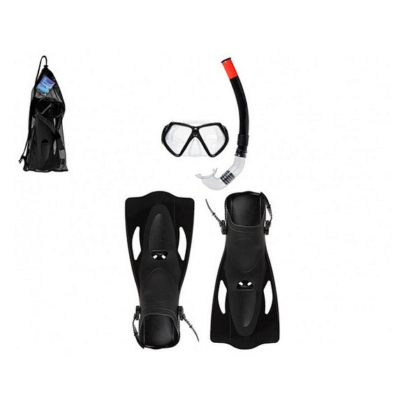 Diving Goggles with Snorkle and Fins