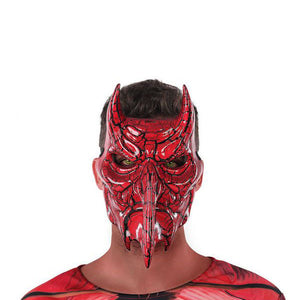 Mask 117753 Male demon Red