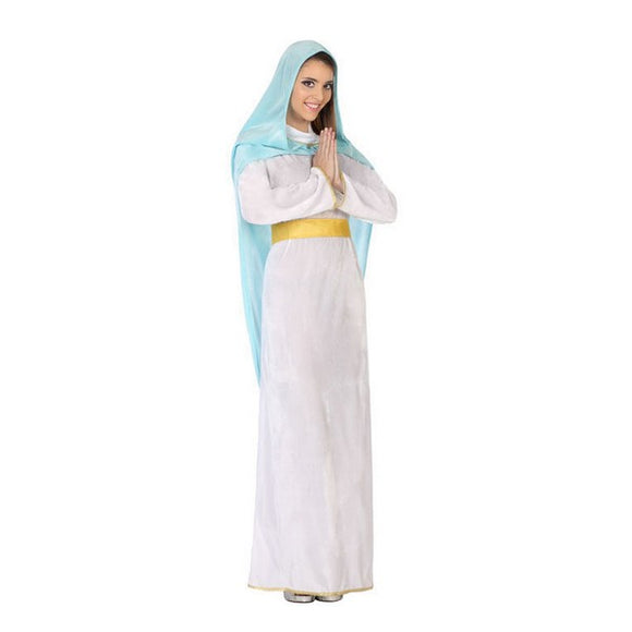Costume for Adults 115819 Virgin White Sky blue (2 Pcs)