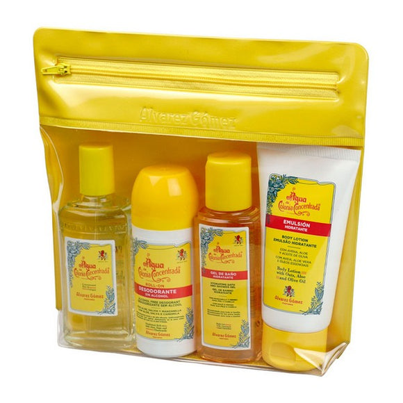 Bath Set Agua De Colonia Alvarez Gomez (5 pcs)