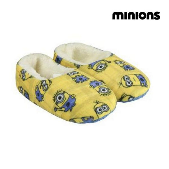 House Slippers Minions 72879 Yellow