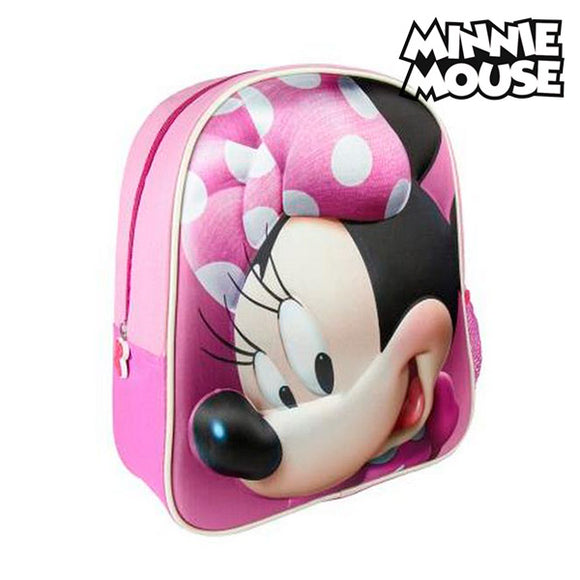 3D School Bag Minnie Mouse 8096