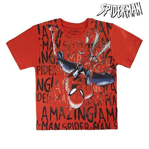Child's Short Sleeve T-Shirt Spiderman 72611