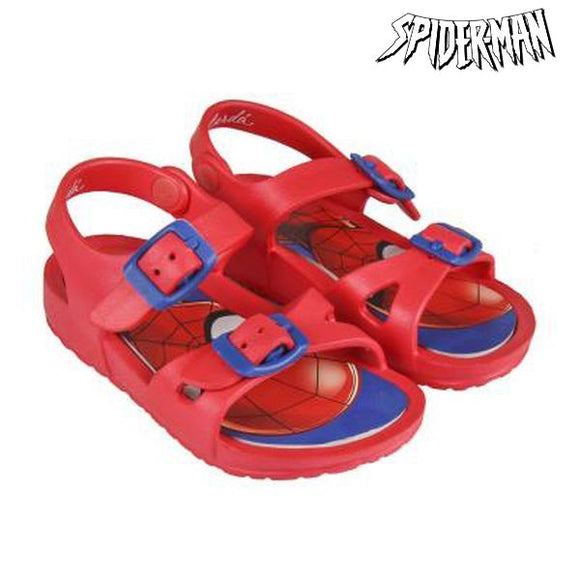 Beach Sandals Spiderman 73060 Red