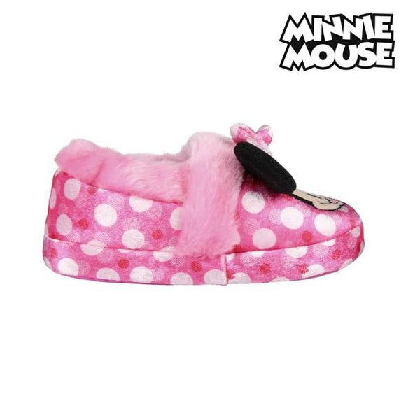 3D House Slippers Minnie Mouse 73376 Pink