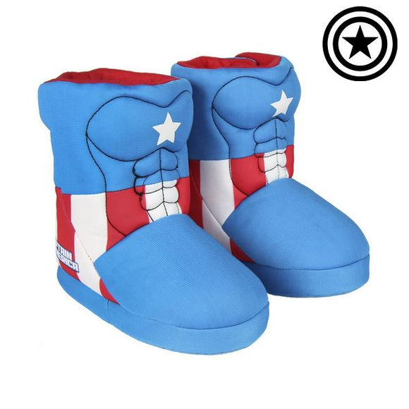 3D House Slippers The Avengers 72329 Blue
