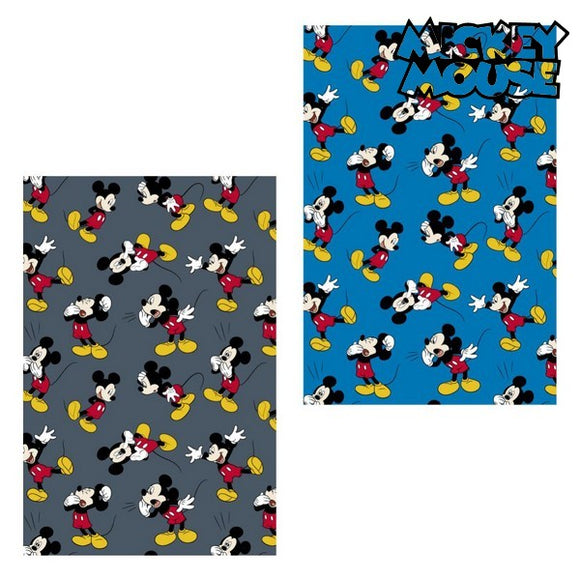 Fleece Blanket Mickey Mouse 73357 (120 x 160 cm)