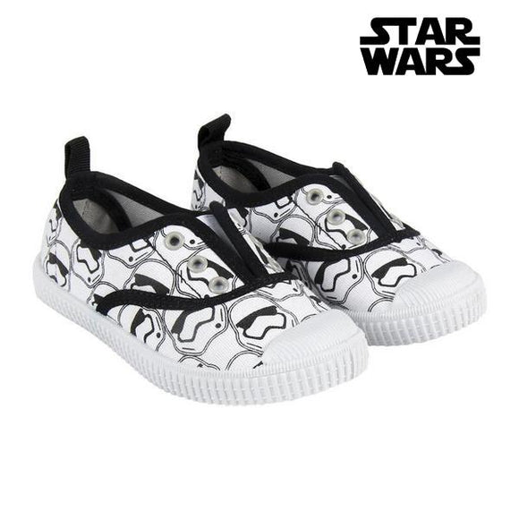 Children's Casual Trainers Star Wars 73573 White