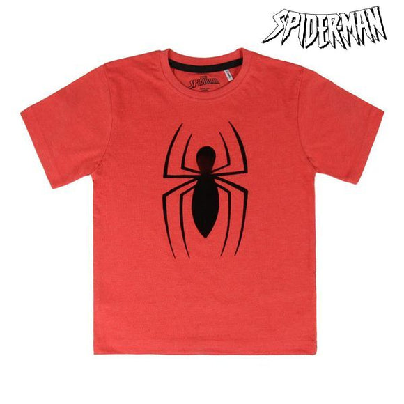 Child's Short Sleeve T-Shirt Spiderman 73493