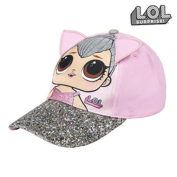 Child Cap with Ears 3d LOL Surprise! 74091 Pink (54 Cm)