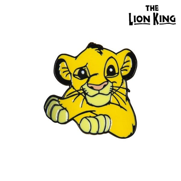 Pin The Lion King Metal Yellow