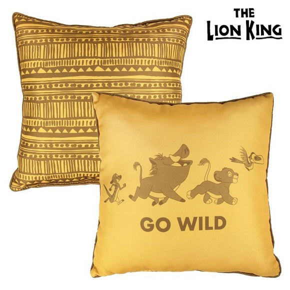 Cushion The Lion King 74864 Yellow (40 X 40 cm)