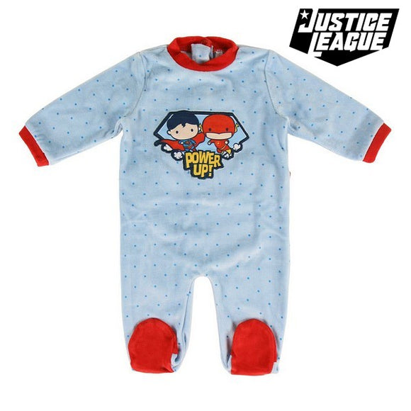 Baby's Long-sleeved Romper Suit Justice League 74615 Blue