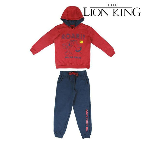 Children's Tracksuit The Lion King 74785 Red Grey