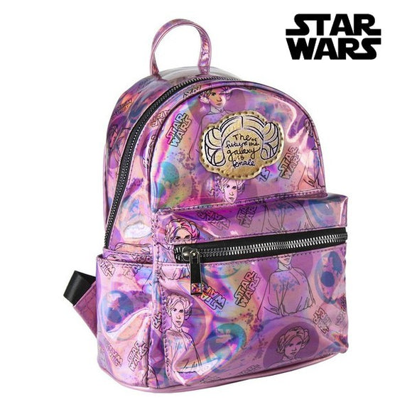 Casual Backpack Star Wars 72826 Lilac Metallic