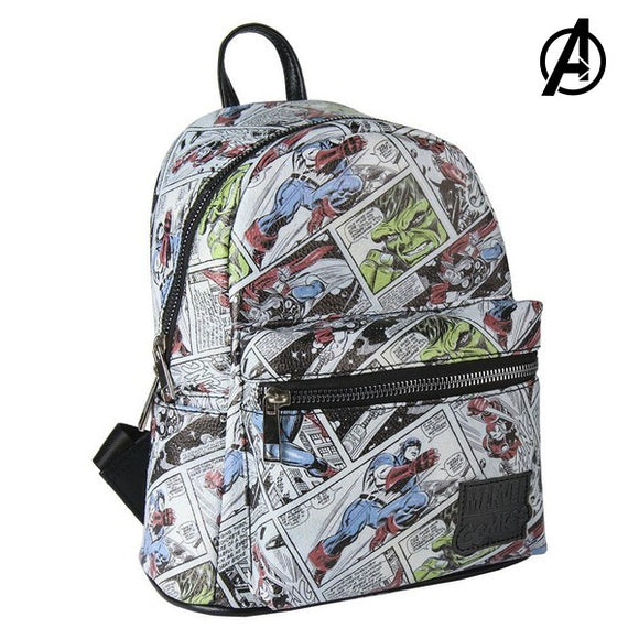 Casual Backpack Marvel 72827 White