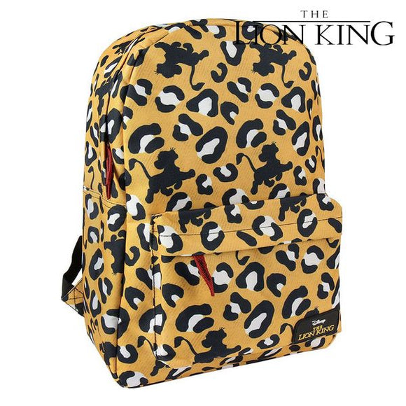 School Bag The Lion King 72831 Yellow