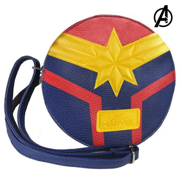 Shoulder Bag Captain Marvel 72840 Blue Yellow Red