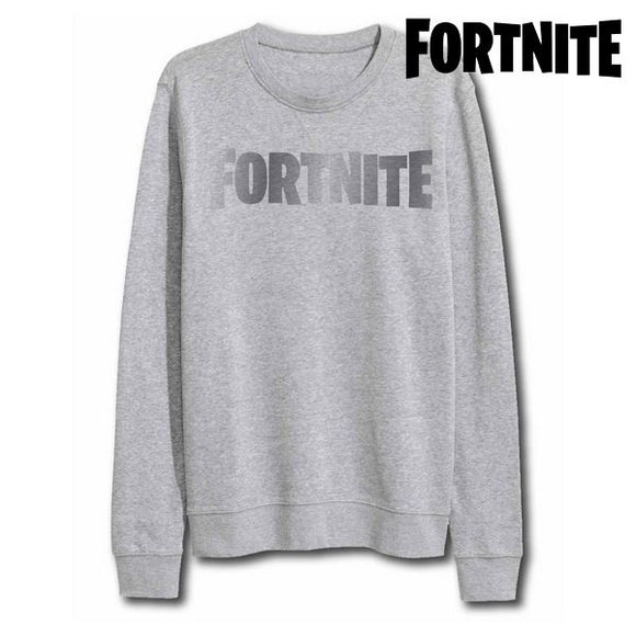 Children's Sweatshirt without Hood Fortnite 75068 Grey