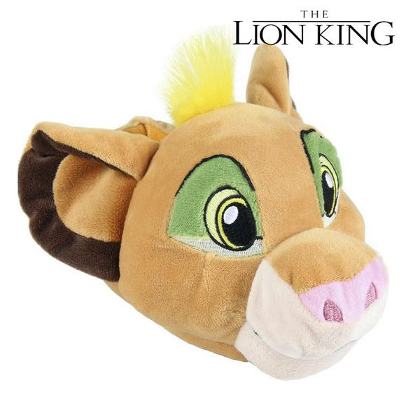 House Slippers 3d The Lion King Brown