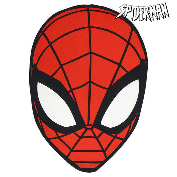 Beach Towel Spiderman 75518 Red