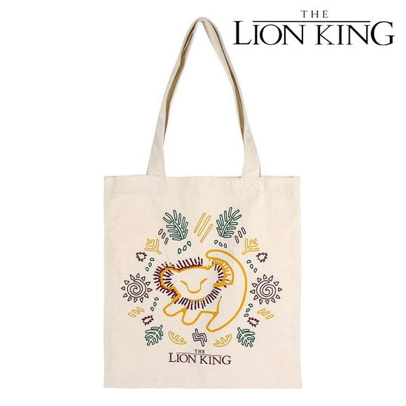 Multi-use Bag The Lion King 72894 White Cotton