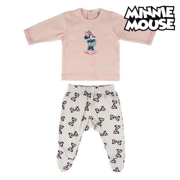 Baby Pyjamas Minnie Mouse Pink