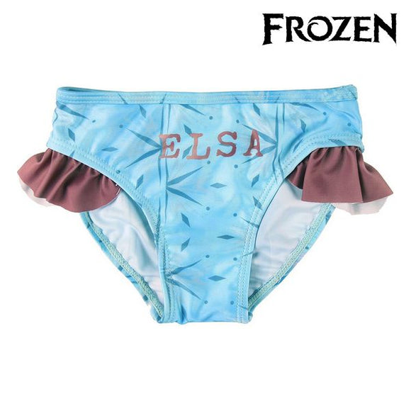 Bikini Bottoms For Girls Frozen Blue