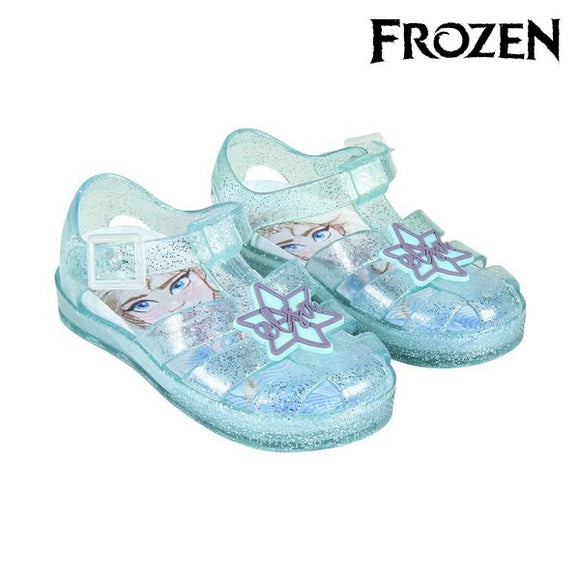 Beach Sandals Frozen 74418 Blue