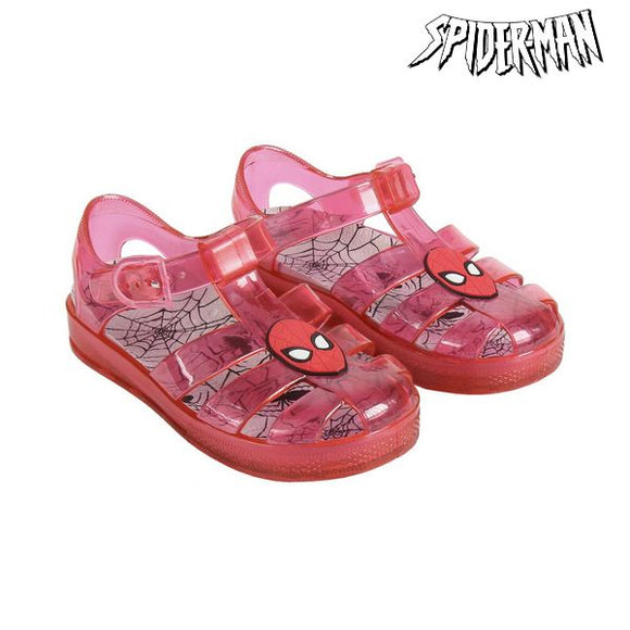 Beach Sandals Spiderman 74419 Red