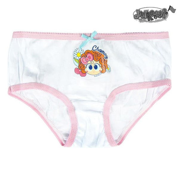 Pack of Girls Knickers Distroller Multicolour (5 Uds)