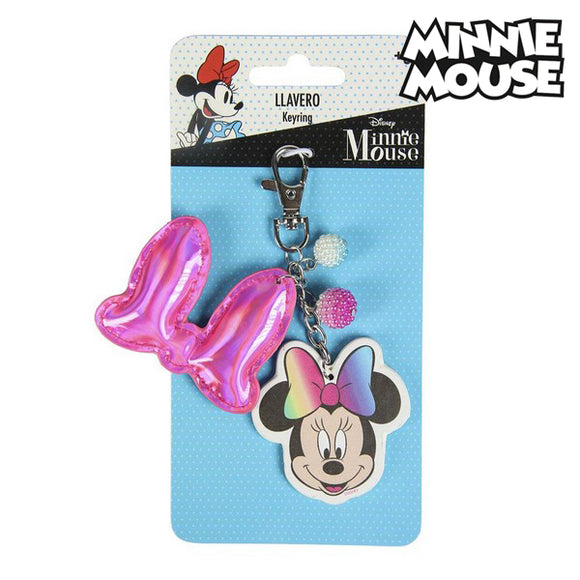 3D Keychain Minnie Mouse 74130 Pink