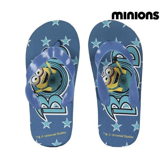Swimming Pool Slippers Minions 72365 Blue
