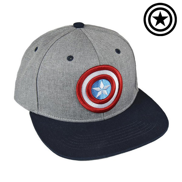Hat with Flat Visor The Avengers 72259 Grey (56 Cm)