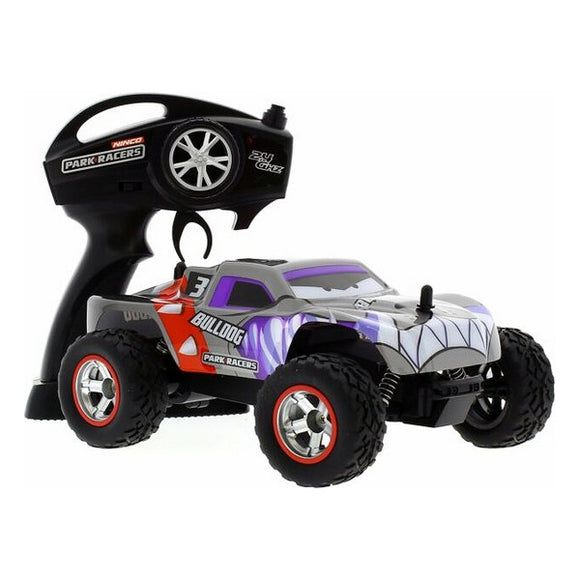 Remote-Controlled Car Ninco Bulldog Monster Truck 2.4 GHz 1:24 Grey