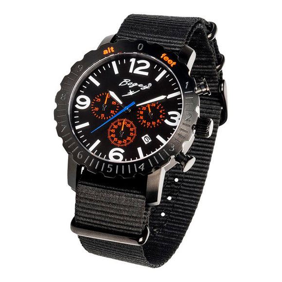 Men's Watch Bogey BSFS001ORBK (44 mm)