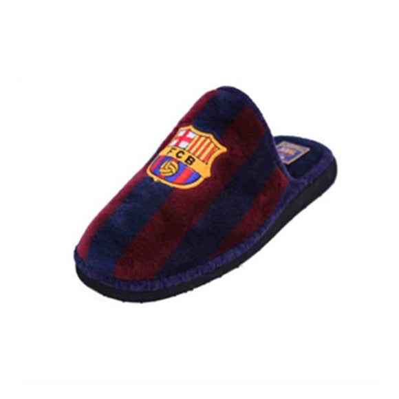 House Slippers Fútbol Club Barcelona Andinas 799-50 Blue Purple Children's