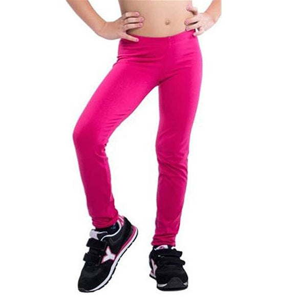 Sports Leggings for Children Happy Dance JR Fuchsia