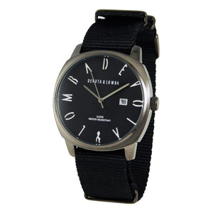 Men's Watch Devota & Lomba DL008MSPBK-01BLACK (42 mm)