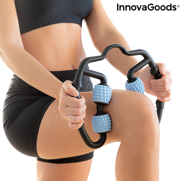 Self massager for Muscles with rollers Rolax InnovaGoods