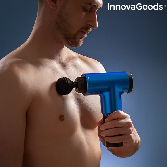 Massage Gun for Relaxation and Muscle Recovery Relaxer InnovaGoods