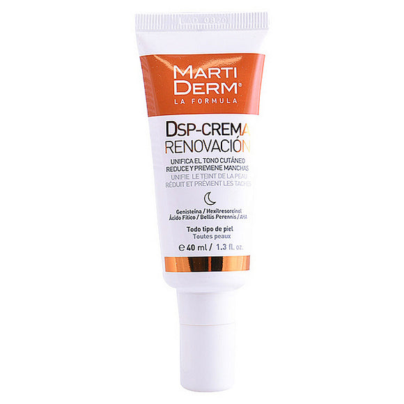 Anti-Pigment Cream Dsp-renovation Martiderm (40 ml)
