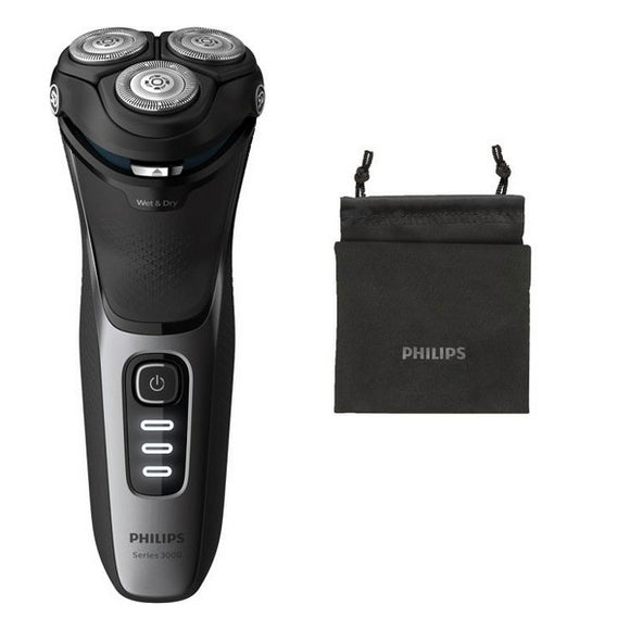 Rechargeable Electric Shaver Philips Wet&Dry S3231/52 Black