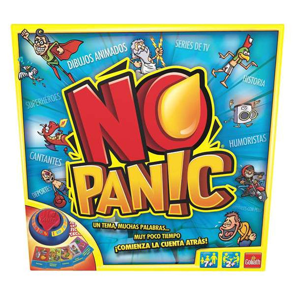 Board game No Panic Goliath (ES)